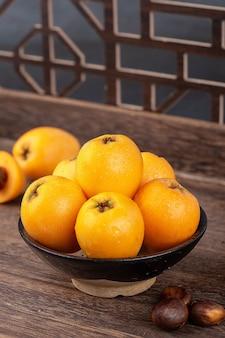 Nespola di frutta fresca