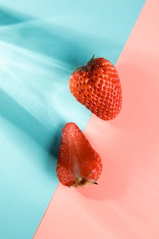 Fragole di frutta fresca