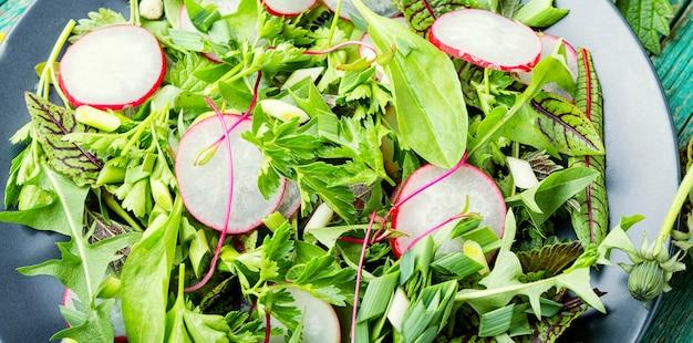 Insalata verde fresca