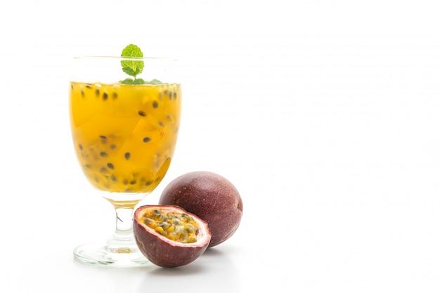 Succo di frutto della passione fresco e ghiacciato