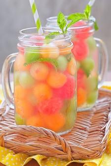 Cocktail di melone freschi