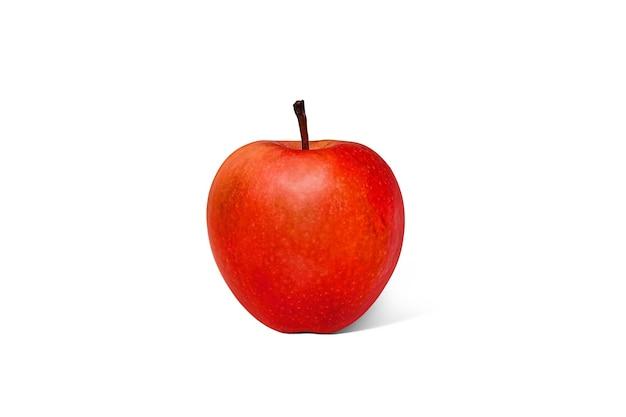Mango affettato succoso maturo fresco su un fondo bianco, isolato, primo piano