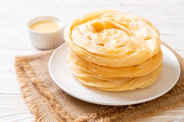 Pasta roti croccante fritta