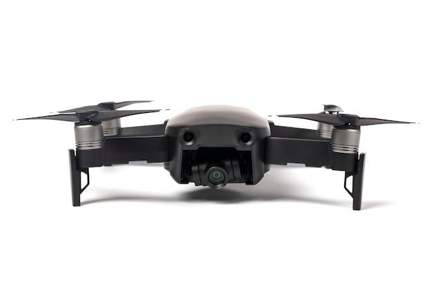 Vista frontale del drone