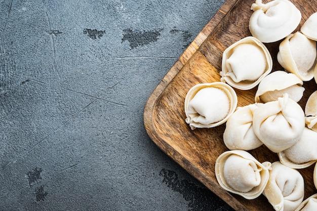 Set tortellini surgelati in cassetta di legno