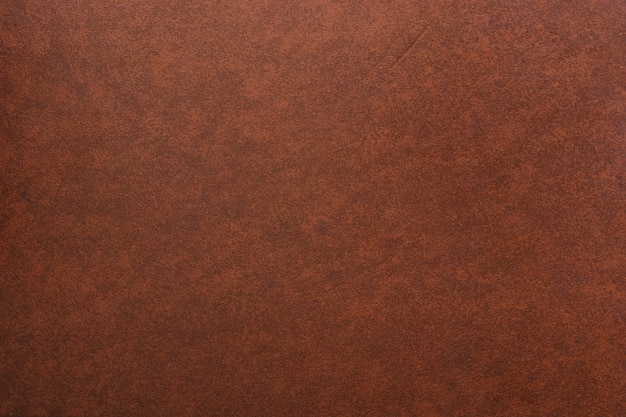 Colpo di telaio completo di sfondo in pelle marrone