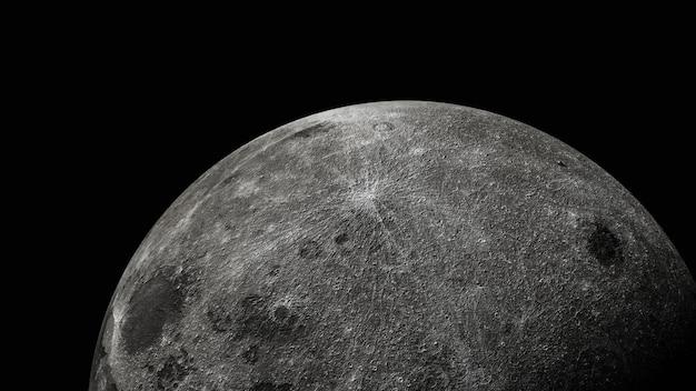 Luna piena bella trama della luna