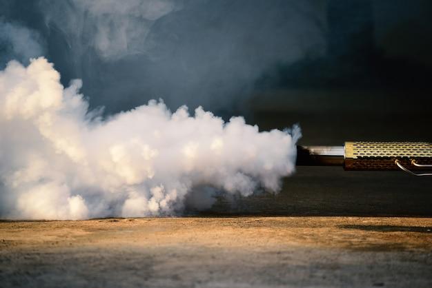 Fumigazione zanzare appannamento