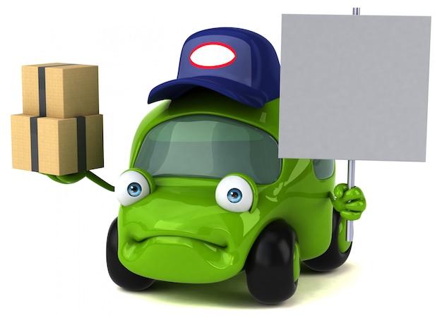 Divertente animazione per auto