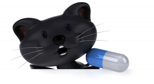 Divertente animazione per gatti