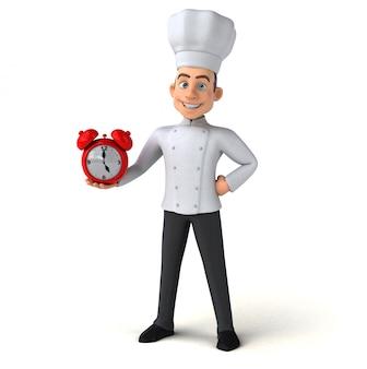 Cuoco divertente - personaggio 3d