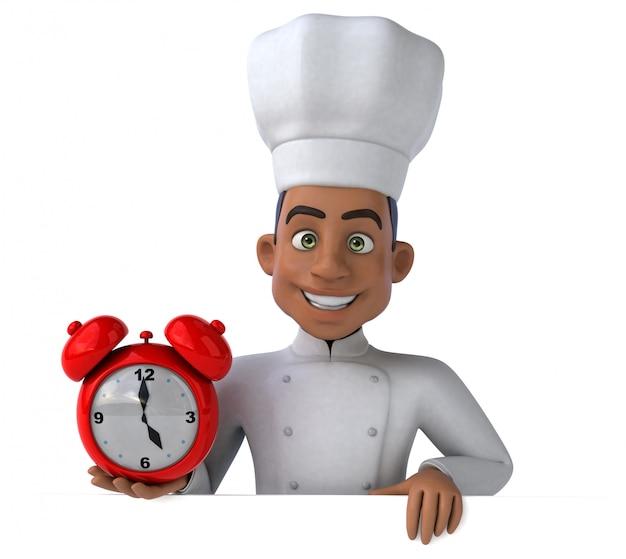 Divertente animazione da chef