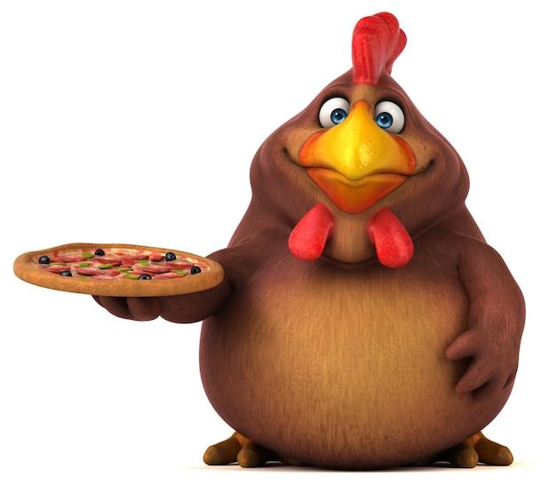 Pollo divertente