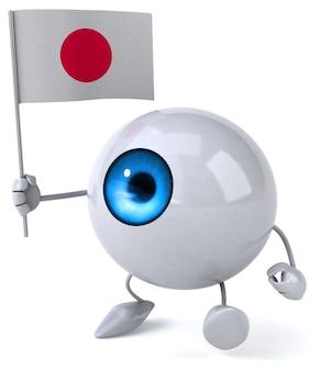 Divertente animazione degli occhi