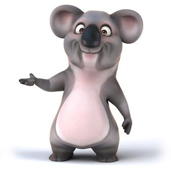 Divertente animazione koala