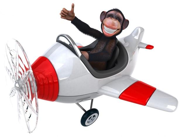 Scimmia divertente Foto Premium