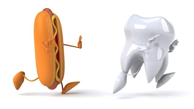 Divertente animazione dei denti