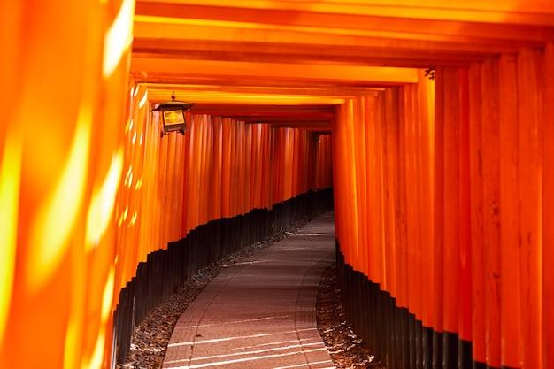 Tempio del santuario di fushimi inari