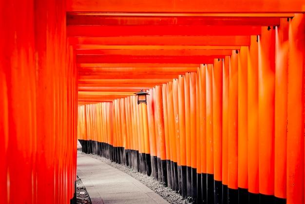 Fushimi inari taisha torii gates