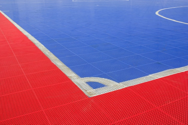 Pavimento di plastica delle mattonelle di pavimentazione della corte di plastica di futsal