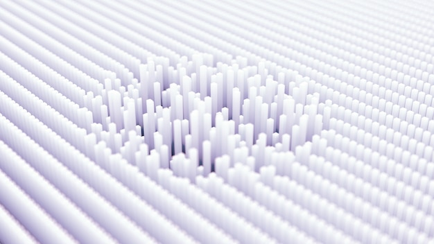 Sfondo tecnologia futuristica. illustrazione 3d, rendering 3d.