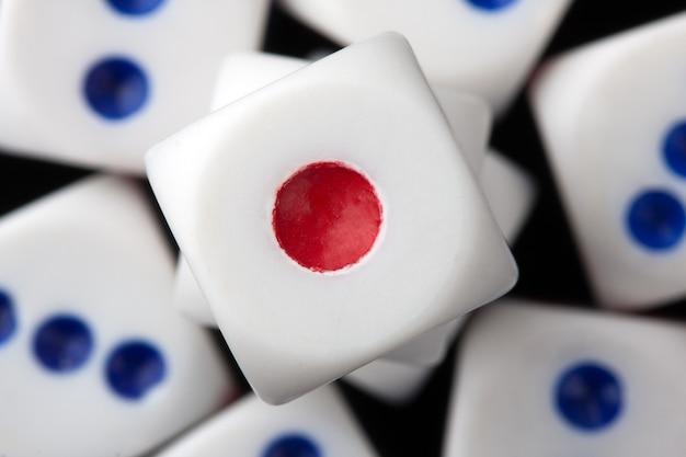 Dadi del gioco d'azzardo