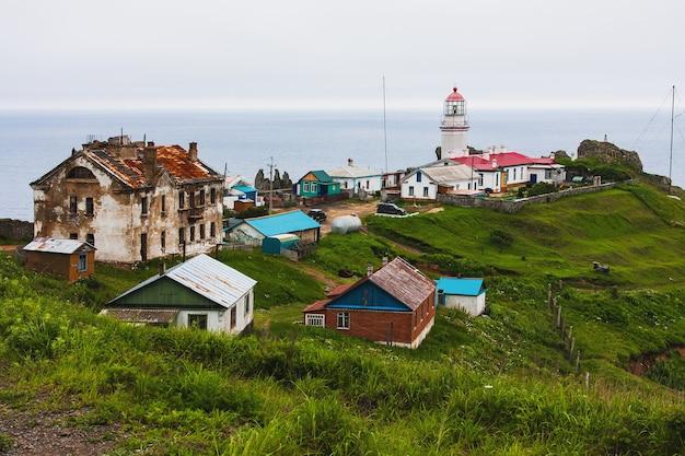 Faro di gamova, la coordinata più meridionale della russia.