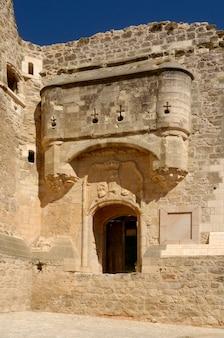 Castello di garcimuãƒâ±oz, provincia di cuenca, castiglia la mancha, in spagna.
