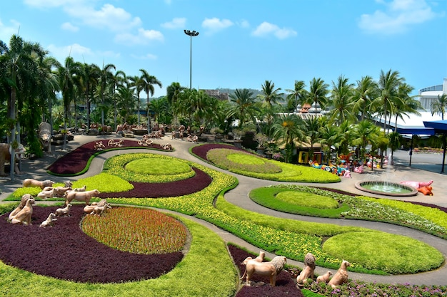 Paesaggio del giardino