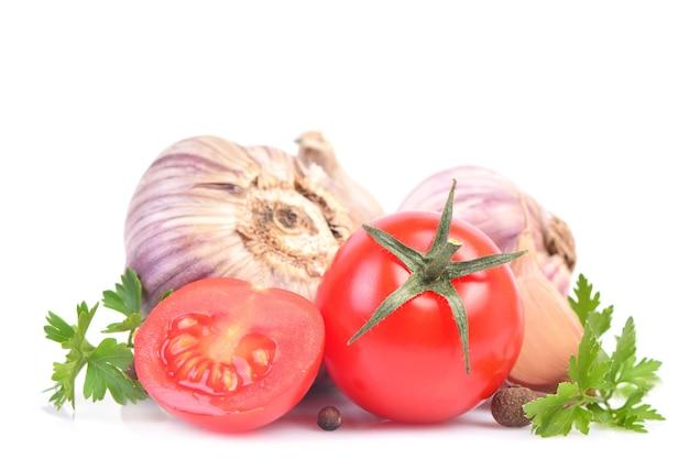Aglio e verdure