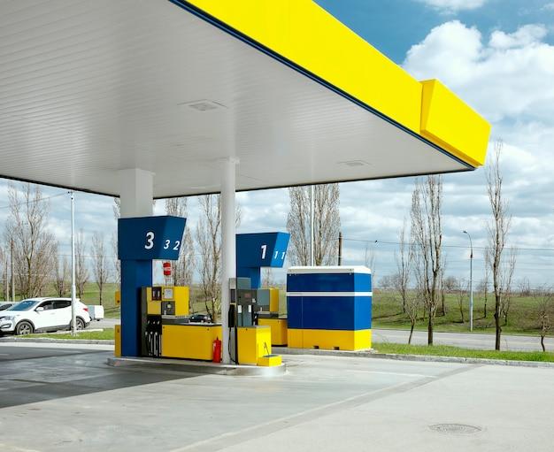 Stazione di rifornimento a gas