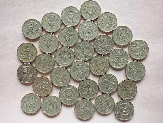 Gbp sterlina monete