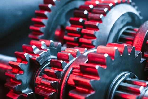 Gears. parte della macchina.