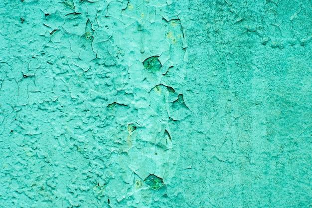 Trama geen per lo sfondo del designer. sfondo colorato. sfondo astratto di vecchia vernice incrinata. ottimo per il design e lo sfondo della trama.
