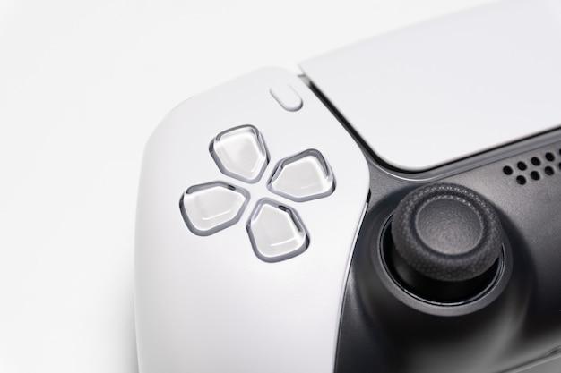 Controller di gioco di nuova generazione in vista ravvicinata