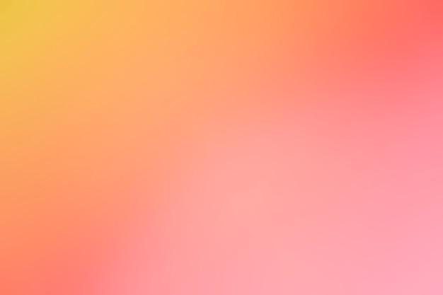 Sfumature di colori delicati