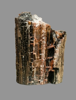 Campione geologico di pepita minerale di salgemma di salgemma cristallino naturale isolato