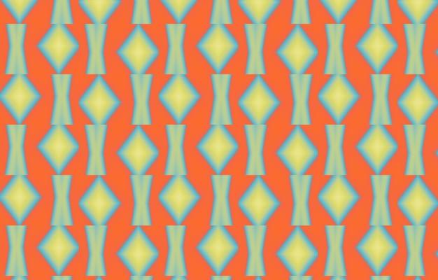 Disegno geometrico etnico senza cuciture per sfondo o carta da paratimodello senza cuciture con stilizzato