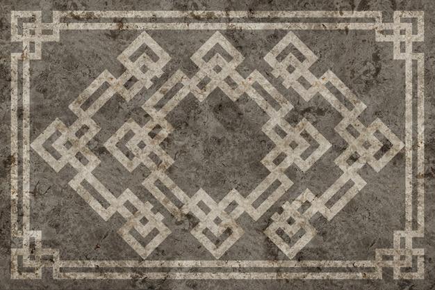 Mattonelle di marmo del motivo geometrico. trama di sfondo.