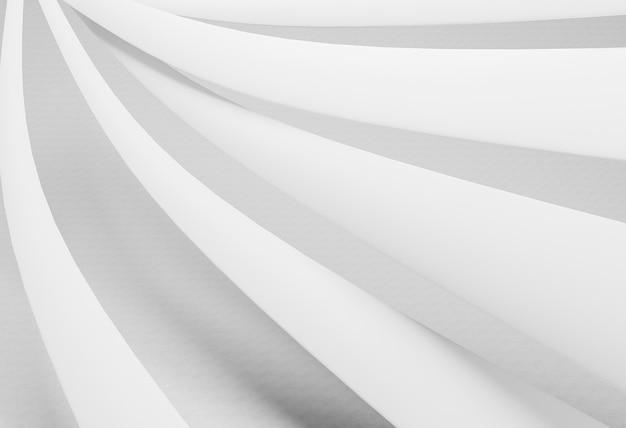 Sfondo geometrico con linee rotonde minimaliste