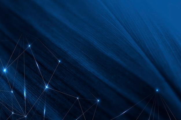 Sfondo fantascientifico blu geometrico