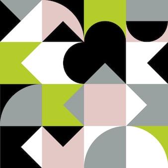 Poster di opere d'arte geometriche minimaliste con forma e figura semplici design del modello vettoriale astratto
