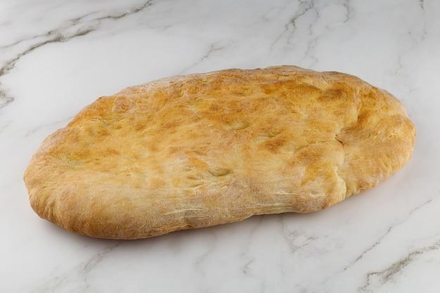 Pane georgiano pita shoti. cibo semplice delizioso