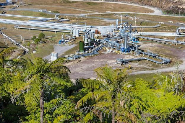 Centrale geotermica in nuova zelanda