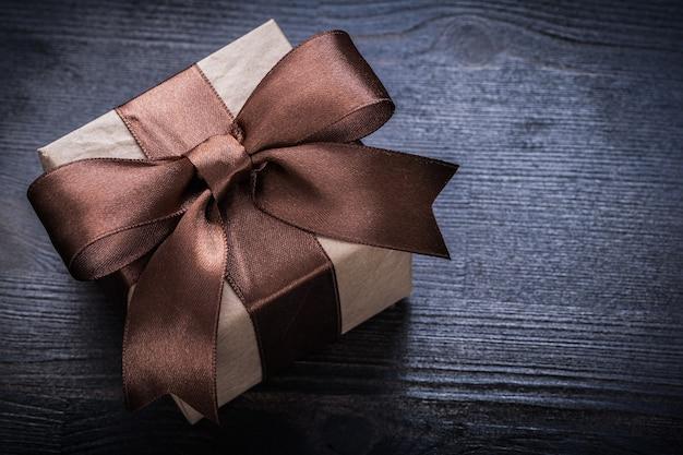 Confezione regalo da vicino