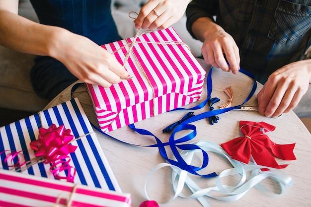 Confezionamento di regali