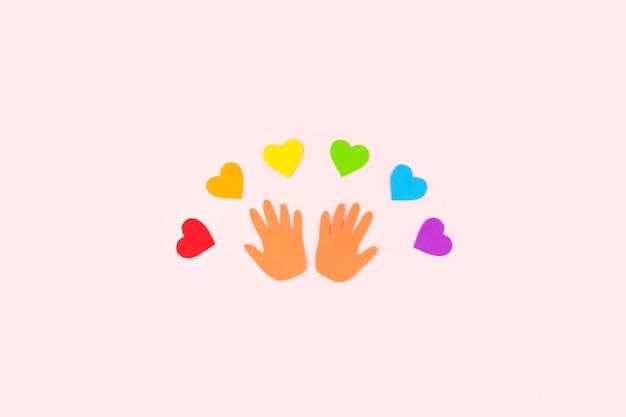 Dare martedì tolleranza gentilezza cooperativa amicizia carità aiuti umanitari giorno concetto molti