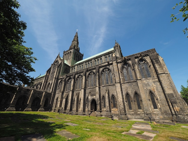 Cattedrale di glasgow aka high kirk o st kentigern o st mungo a glasgow, uk