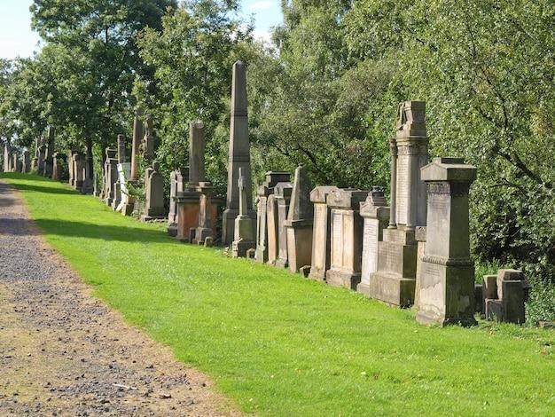 Necropoli del cimitero di glasgow