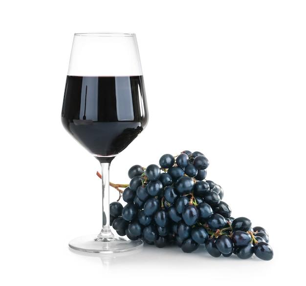 Bicchiere di vino gustoso